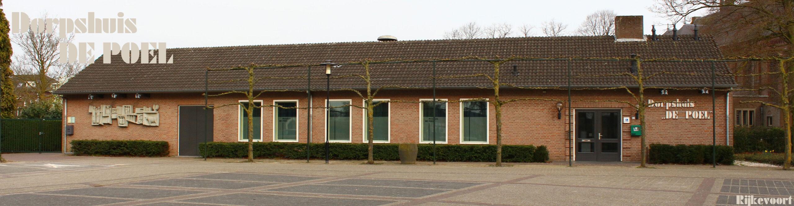 Dorpshuis de Poel, Rijkevoort